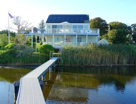 North Chatham, Beach, w Kayaks Cape Cod vacation rental - View of house from boardwalk
