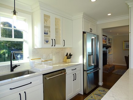North Chatham, Beach, w 4 kaya Cape Cod vacation rental - Kitchen is new 2020, and is well stocked with basics, paper goods