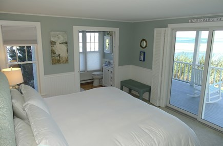 North Chatham, Beach, w Kayaks Cape Cod vacation rental - King Master with en suite Full Bath, Water views, slider to deck