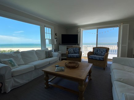 North Chatham, Beach, w 4 kaya Cape Cod vacation rental - June 2021: Our  Living Room View / Chatham's Best Views