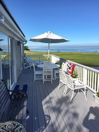North Chatham, Beach, w Kayaks Cape Cod vacation rental - Warm Southerly Views at low tide, 2017
