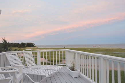 North Chatham with Beach, Kaya Cape Cod vacation rental - Typical gorgeous Sunset over the Atlantic