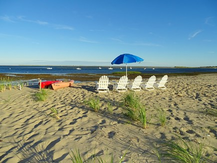 North Chatham, Beach, w Kayaks Cape Cod vacation rental - ...to your own private beach area...to enjoy the changing tides