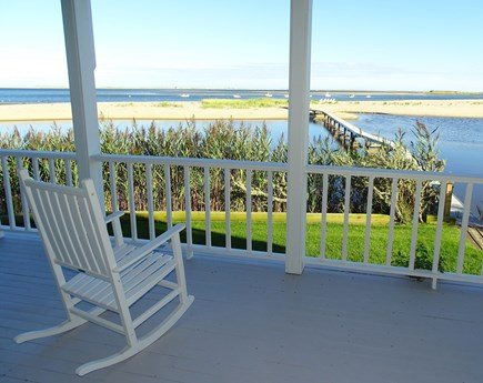 North Chatham, Beach, w Kayaks Cape Cod vacation rental - Lovely views from the deck