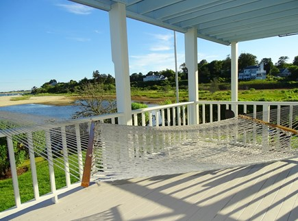 "North Chatham, Beach, w Kayaks Cape Cod vacation rental - The other side of lower deck offers the ""best seat in the house"""