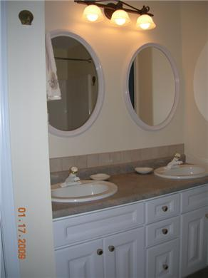 Bourne Cape Cod vacation rental - Second floor bathroom w/ tub & shower