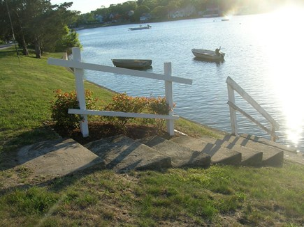 Onset MA vacation rental - Swim in the warm water in front of the house