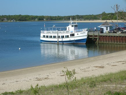 Bourne Cape Cod vacation rental - The Viking Canal Cruise leaves from the village center