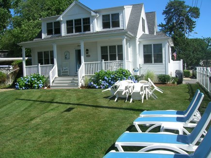 Bourne Cape Cod vacation rental - Front of House overlooking Broad Cove