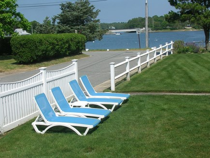 Bourne Cape Cod vacation rental - Lounge Chairs overlooking the Water