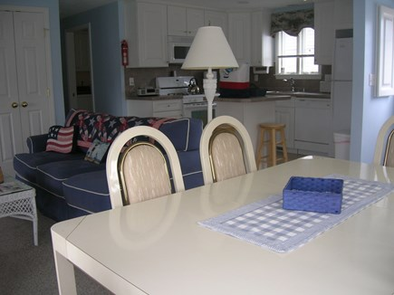 Bourne Cape Cod vacation rental - Open Dining Area, Kitchen with small island