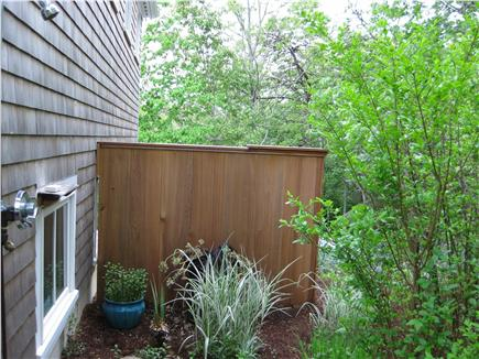 Truro Cape Cod vacation rental - Gardens with outdoor shower