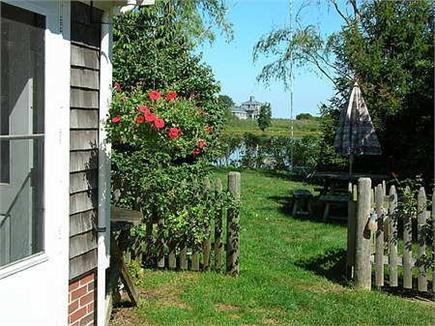 Woods Hole Woods Hole vacation rental - This is the gateway to the backyard and views of Mill Pond
