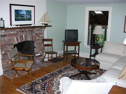 Woods Hole Woods Hole vacation rental - Fireplaced living room