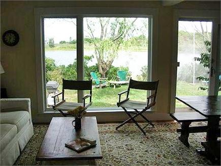 Woods Hole Woods Hole vacation rental - Another view of sitting area with view toward Mill Pond