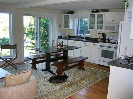 Woods Hole Woods Hole vacation rental - Open kitchen, dining and living area