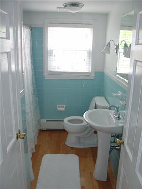 Falmouth Cape Cod vacation rental - 1st floor full bath, 2nd floor bath almost identical