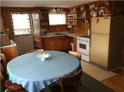 Sagamore Beach, Sandwich Sagamore Beach vacation rental - Kitchen/dining with picture window
