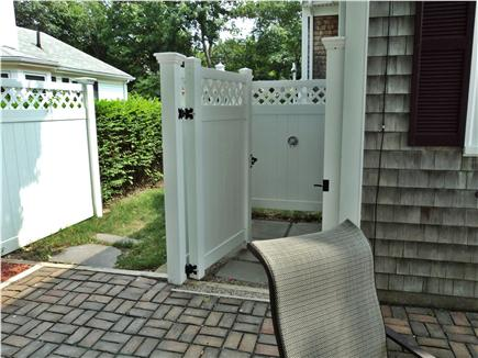 Hyannis Cape Cod vacation rental - Out Side Shower