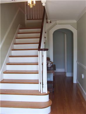 Hyannis Cape Cod vacation rental - Stairway to second floor