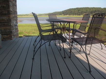 Wellfleet Cape Cod vacation rental - Deck on the National Seashore and Sanctuary