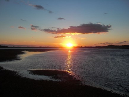 Wellfleet Cape Cod vacation rental - Your own private sunset show