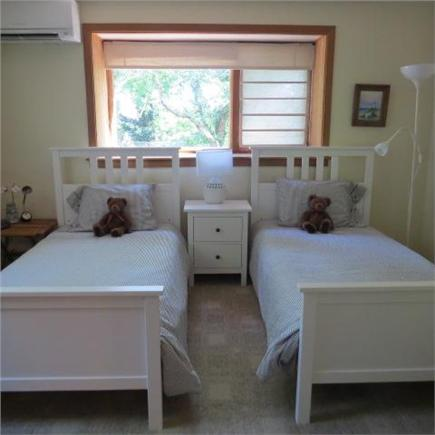East Sandwich Cape Cod vacation rental - Downstairs bedroom with twin beds