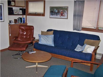 East Sandwich Cape Cod vacation rental - Loft with very comfortable double futon - media center