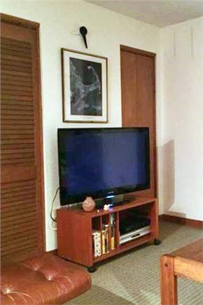 East Sandwich Cape Cod vacation rental - Loft with 40'' HDTV opens to master bath.