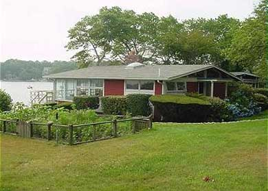 Centerville Centerville vacation rental - The house sits near the vegetable garden