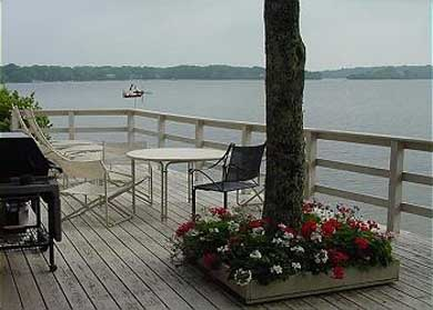 Centerville Centerville vacation rental - The deck is open from the living room and two bedrooms