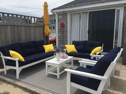 Sandwich Cape Cod vacation rental - Outside Deck