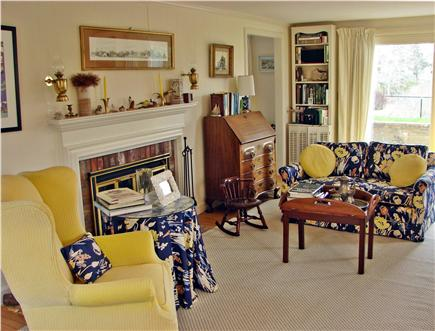 Near Lighthouse beach/Chatham Cape Cod vacation rental - Gather in the living room, adjacent to the dining room