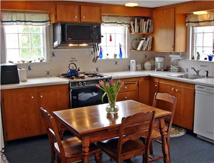 Near Lighthouse beach/Chatham Cape Cod vacation rental - Fully equipped kitchen with adjacent main floor laundry