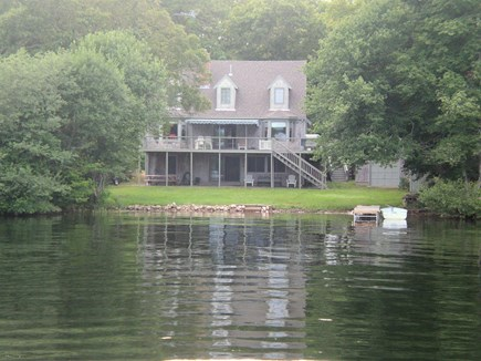 Mashpee Cape Cod vacation rental - View from pond
