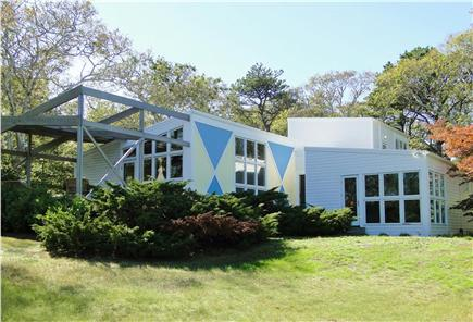 Wellfleet Cape Cod vacation rental - Bright contemporary home with new deck