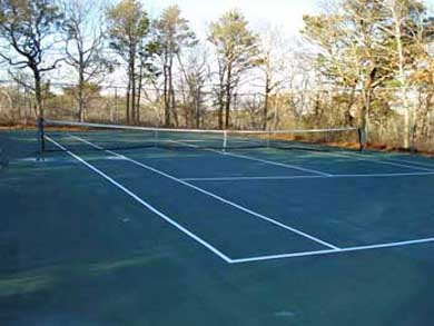 Wellfleet Cape Cod vacation rental - Tennis court