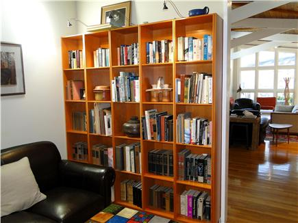Wellfleet Cape Cod vacation rental - Cozy library