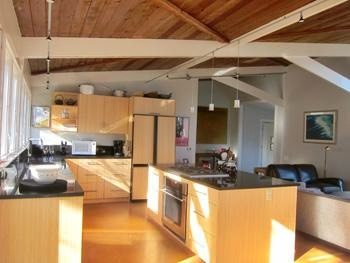 Wellfleet Cape Cod vacation rental - New granite counters & bamboo cabinets