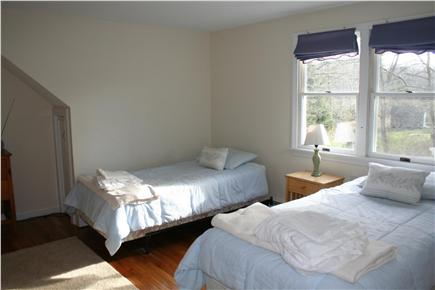 Brewster Cape Cod vacation rental - Two of Four twin beds in spacious upstairs room