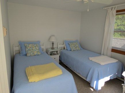 Brewster Cape Cod vacation rental - Twin BR, main level. Main level. BRs now have window a.c. units.