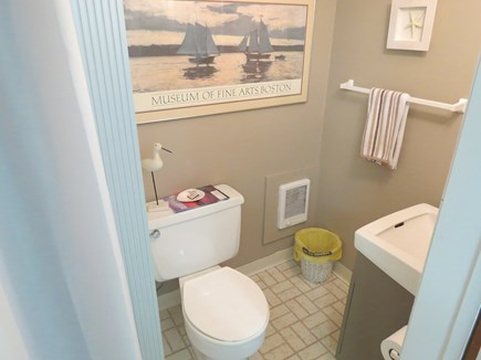 Brewster Cape Cod vacation rental - Lower level full bath. Main level also has a full bath, not shown