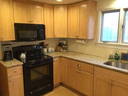 Eastham Cape Cod vacation rental - Fully furnished kitchen with lobster pot!