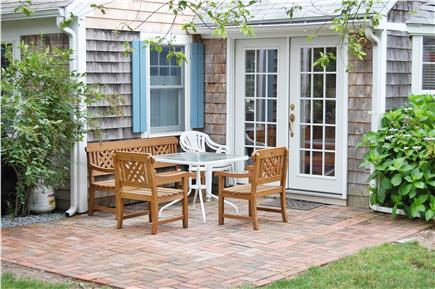Dennisport Cape Cod vacation rental - Patio out back