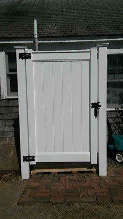 Dennisport Cape Cod vacation rental - Brand new outdoor shower with hot and cold water!