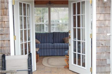 Dennisport Cape Cod vacation rental - Entry way to Garden Room