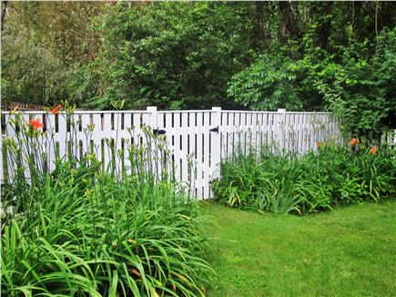 Brewster Cape Cod vacation rental - Lovely grounds with a secure fenced area for your pet......