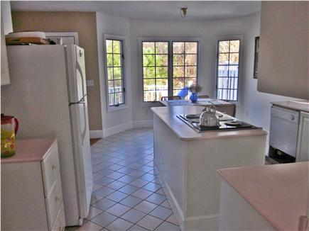 Brewster Cape Cod vacation rental - Modern and Bright open Kitchen which opens onto the private deck