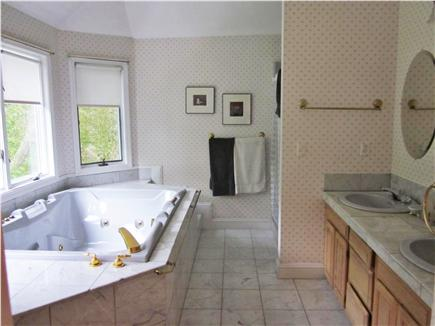 Brewster Cape Cod vacation rental - The Master Bath Off The Master Bedroom