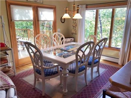 Brewster Cape Cod vacation rental - New large dining set